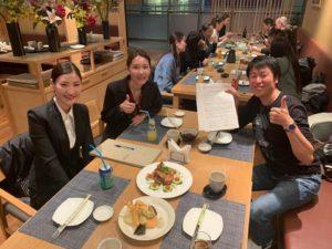 モンゴルの技能実習生たちと夕食会