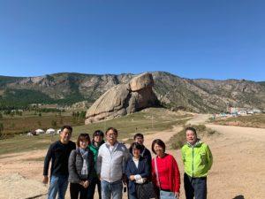 モンゴル観光テレルジ国立公園